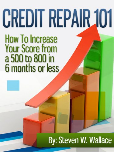Credit Repair 101 : How To Increase Your Score from a 500 to 800 in 6 months or less