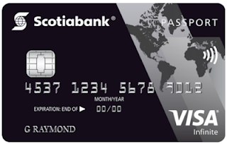 Introducing the Scotiabank Passport Visa Infinite Card - a strong well rounded no foreign transaction fee travel rewards credit card