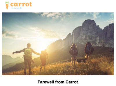 June 22 Update: Carrot Rewards shuts down, Alaska Airlines adds award redemptions on Aer Lingus & MBNA Amazon card temporarily unavailable Jun 23rd