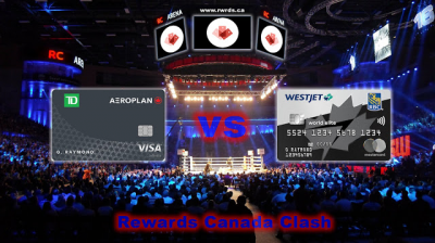 Clash of the Credit Cards! TD® Aeroplan® Visa Infinite* Card vs. WestJet RBC World Elite Mastercard