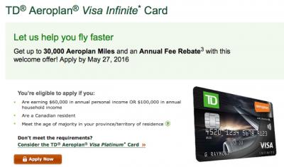 Td First Class Visa Infinite Car Rental Insurance