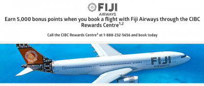 February 20 Update: CIBC Aventura bonuses for Fiji Airways & Air Transat Flights, Aeroplan charging carrier fees on Air China awards and we launch our consulting page (finally)