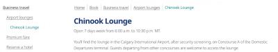 WestJet has unofficially opened their first lounge in Calgary