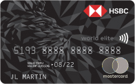 HSBC World Elite Mastercard - Up to 60,000 bonus points + first year annual fee waived (90,000 points + annual fee for Quebec)