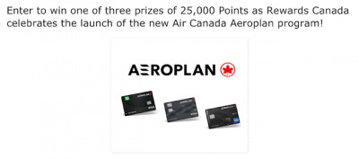 November 27 Update: Aeroplan contest winners, 40,000 bonus Be Well points at Rexall and tell us your Mobile Device Insurance stories