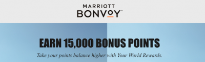 Marriott Bonvoy sending out targeted stay bonus offers – check your account to see if you received one Dec 30th