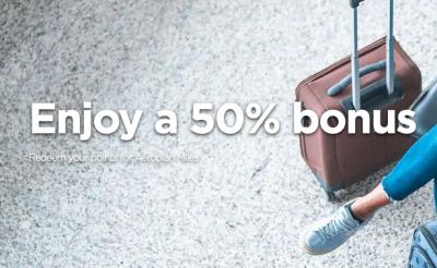 Receive 50% Bonus Miles when you convert Radisson Rewards points to Aeroplan