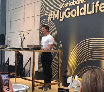 Scotiabank Gold American Express Card Refresh Event with Queer Eye's Antoni Porowski