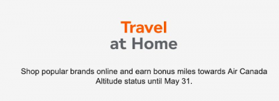 Earn 5x Aeroplan Miles on all eStore purchases made on May 30 and 31