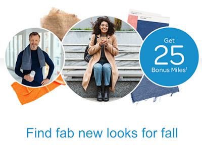 September 15 Update: 25 Bonus AIR MILES when shopping online for apparel, Wyndham extends 7,500 point bonus for 2 night stays & more!