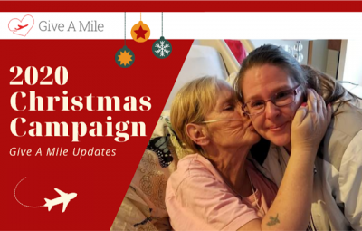 Give A Mile 2020 Flight Hero Christmas Campaign: Help Rewards Canada raise 50,000 points for flights of compassion