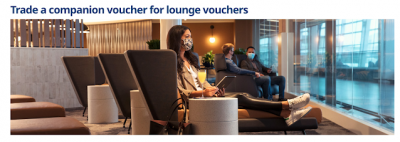 You can now exchange WestJet companion vouchers for lounge access and gift Gold Elite status with your milestone awards