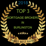 Honoured to be rated among Top 3 Best Mortgage Brokers in Burlington!