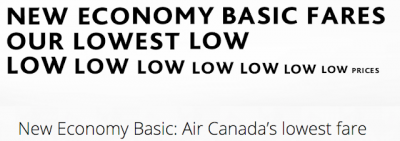 February 21 Update: Air Canada introducing Economy Basic fares, Cobalt multipliers updated and a new look for WestJet coming next week? + MORE Feb 21st