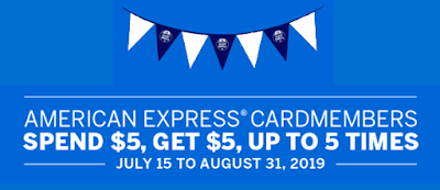 American Express Shop Small Promotion is back again - Earn a $5 credit for spending $5 at participating merchants