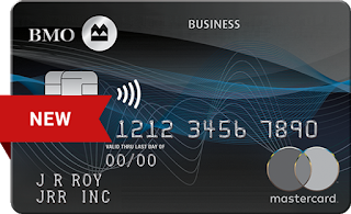 New increased welcome bonus of 50,000 points on the BMO Rewards® Business Mastercard®