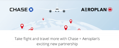 Aeroplan joins Chase Ultimate Rewards + a waitlist bonus for the new Chase Aeroplan Card (U.S. only) Aug 4th