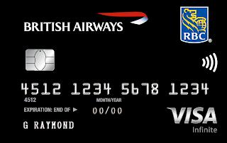 Earn up to 60,000 Bonus Avios^ with the RBC British Airways Visa Infinite Card Sep 11th