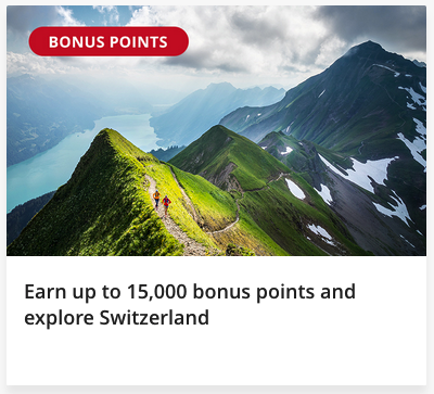 Fly Air Canada to Switzerland and earn up to 15,000 bonus Aeroplan points