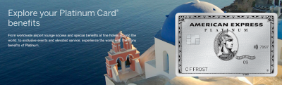 A closer look at the newly refreshed Platinum Card from American Express