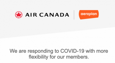 Aeroplan confirms flight reward cancel with no fee policy and pauses expiration of miles + Air Canada Altitude updates + MORE Mar 20th
