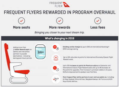 June 20 Update: Qantas revamps their Frequent Flyer program, Azore Airlines now codeshares on WestJet flights & more + MORE Jun 21st
