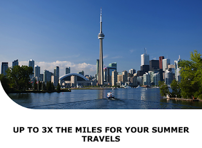 Earn up to Triple Aeroplan Miles on Air Canada flights within Canada or between Canada and the U.S. (Targeted offer)
