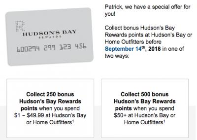 September 4 Update: Rewards Canada back to full steam, WestJet Seat Sale and 12 new bonus offers