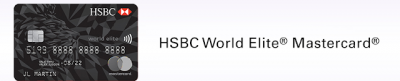 Great offer for the HSBC World Elite Mastercard - Up to 75,000 bonus points + first year annual fee waived