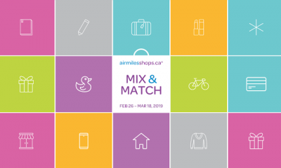 Earn up to 300 Bonus AIR MILES Reward Miles with the airmilesshops Mix & Match promotion + MORE Feb 28th