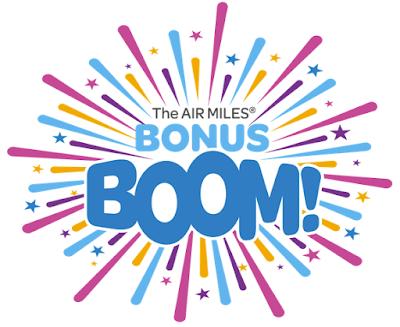 AIR MILES Bonus Boom is now live – earn bonus miles with participating partners + 95 bonus miles with three different Bonus Boom offers + MORE Jun 18th