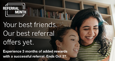 Amex Referral Month - Best referral offers yet for those referring new cardmembers