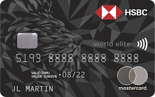 HSBC brings back the 100,000 point & first year free offer on the HSBC World Elite Mastercard