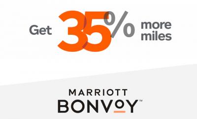 35% Bonus Aeroplan Miles when you convert Marriott Bonvoy points until June 26