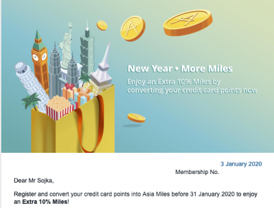 January 6 Update: 10% Bonus Asia Miles when you convert credit card points from RBC, HSBC or Amex, More Cobalt multiplier locations, Air Transat partnership