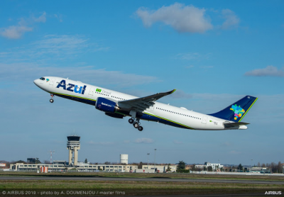 You can now earn and burn Aeroplan Miles on Azul Brazilian Airlines