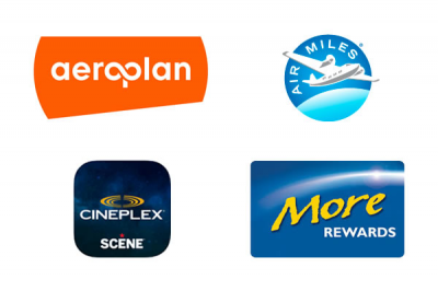The Top 4 Coalition Program Credit Cards for Aeroplan, AIR MILES, More Rewards & SCENE members + MORE Feb 22nd