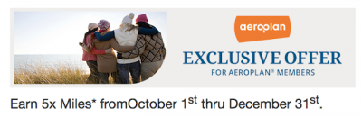 Earn 5x Aeroplan Miles for Choice Hotels stays Worldwide until December 31 + MORE Oct 17th