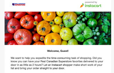 Use Instacart to circumvent Loblaw stores non-acceptance of Amex and to earn 5x points with the Cobalt Card