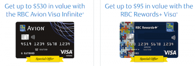 January 15 Update: New welcome offers on the RBC Avion Visa Infinite & Rewards+ Visa cards and double points on Best Western stays until the end of January