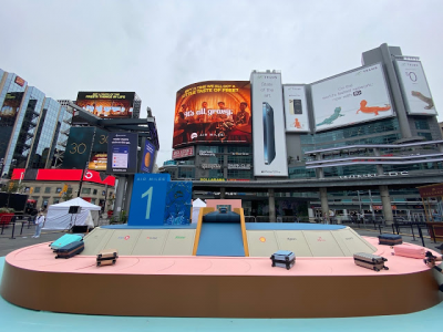 October 15 Update: Check out the AIR MILES Carousel of Dreams in Toronto this weekend and don't forget to earn miles & points for shopping online from the U.S. Oct 16th