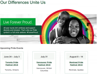 Aeroplan and TD support Pride 2016 Celebrations in Toronto, Vancouver & Montreal + MORE Jun 28th