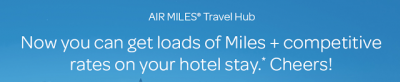 AIR MILES Travel Hub launched – a new hotel booking engine to earn more AIR MILES (powered by PointsHound) + MORE Aug 17th