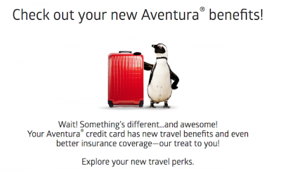 October 15 Update: CIBC Aventura new card benefits launch today, save 15% off Air Canada sun destination flights and more!