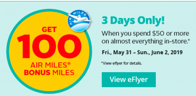 May 30 Update: 100 Bonus AIR MILES at Rexall, More Rewards Points Extravaganza & $100 off Aer Lingus flights to Europe