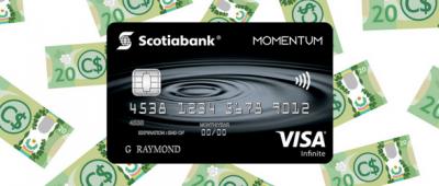 Scotia Momentum® VISA Infinite* Review