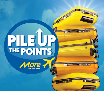 More Rewards Pile up the Points - Earn up to 20,000 bonus points for collecting at multiple partners until April 8