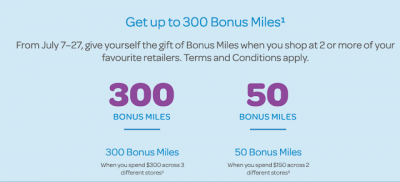 July 8 Update: Earn up to 300 bonus AIR MILES for shopping online, AIR MILES & Shell expanding earn next week, 40,000 bonus PC Optimum points for Shoppers Drug Mart online purchases