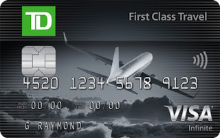 New welcome bonus of up to 60,000 TD Rewards Points with the TD First Class Visa Infinite Card