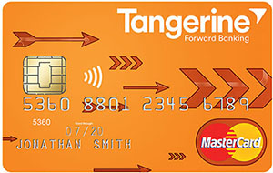 Earn up to 4% Cash Back with a limited time offer from the Tangerine Money-Back Credit Card